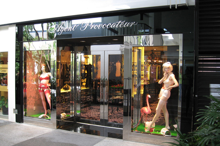 Agent Provocateur is a U.K.-based luxury lingerie and accessories retailer