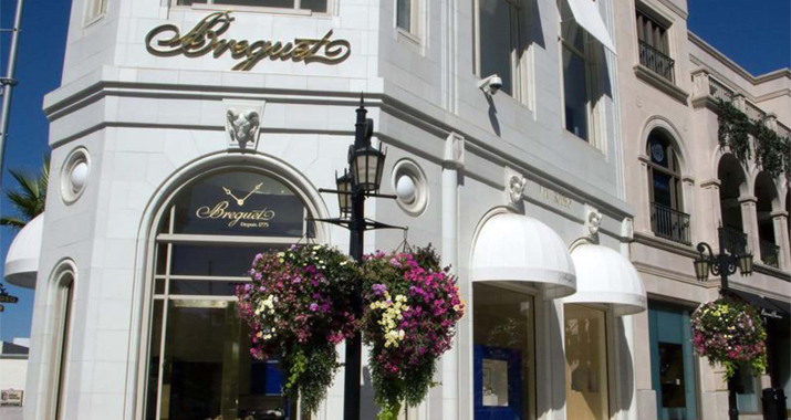 ZAG provided interior design services for luxury watchmaker, Breguet