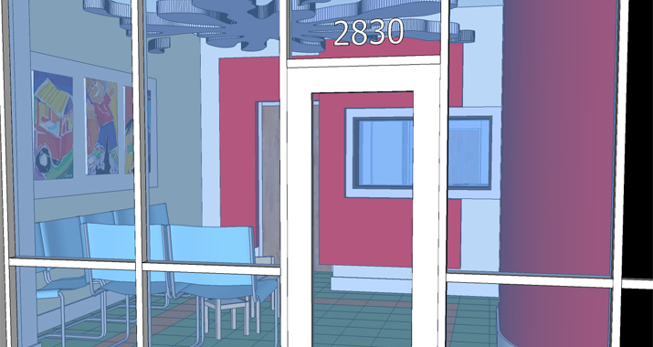 ZAG's services included interior design and 3D modeling